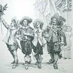 Musketiers en D'artagnan