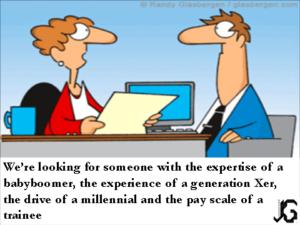 generatie cartoon HR