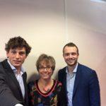 Annemieke Nijhof – CEO Tauw Groep met Marc en Martijn Gepubliceerd