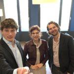 Eva Klein-Schiphorst -Directeur Transacties en Projecten bij Rijksvastgoedbedrijf  met Marc en Martijn W. Gepubliceerd