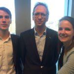 Johan Vermeer - Directeur ingenieursbureau Rotterdam met Daan en Carlijn Gepubliceerd