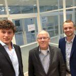Nico de Vries - Voorzitter dagelijks bestuur stichting De BouwCampus met Marc en Martijn Gepubliceerd