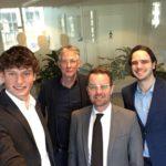Raimond de Prez - Wethouder Delft en Laurens Engelbrecht met Marc en Tom Gepubliceerd