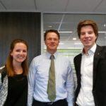 Rob van Wingerden – CEO BAM met Carlijn en Bern Gepubliceerd