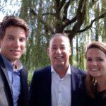 Tim van der Hagen met Carlijn en Bern