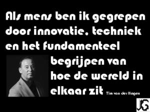 quote Tim van der Hagen